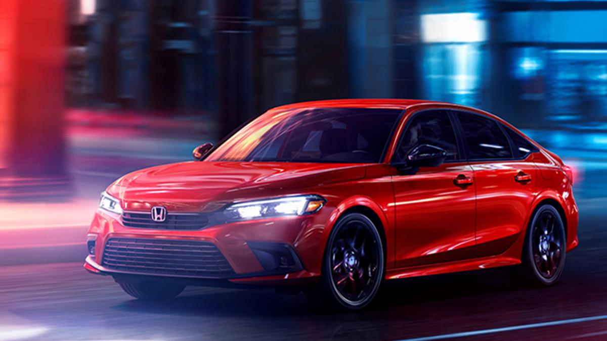 The 2021 Honda Civic Design